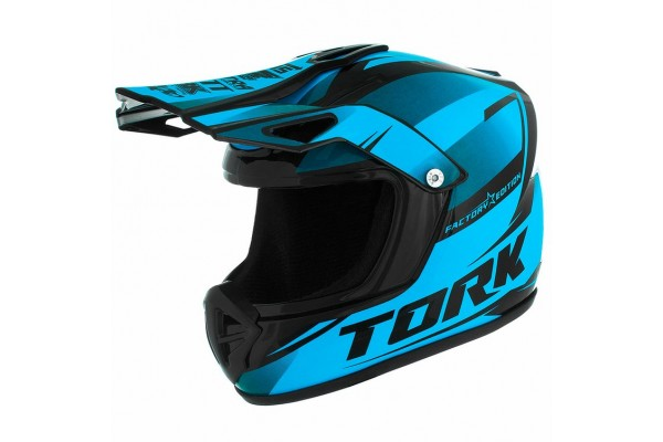 CAPACETE MINI PRO TORK CROSS FACTORY EDITION